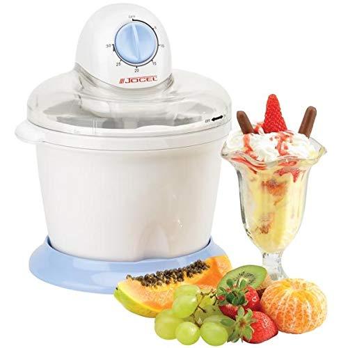 Tapa con abertura para añadir ingredientes Desmontable para fácil limpieza Cuchara de helados Capacidad 1.5l Temporizador