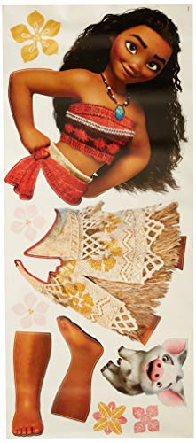 RoomMates Moana Peel And Stick Giant Wall Decals