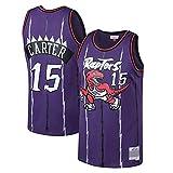 WEIZI Toronto Raptors # 15 Vince Carter # 1 Patrick Mccaw Jerseys de Mujer para Hombre NBA Baloncesto Transpirable Swingman Jerseys
