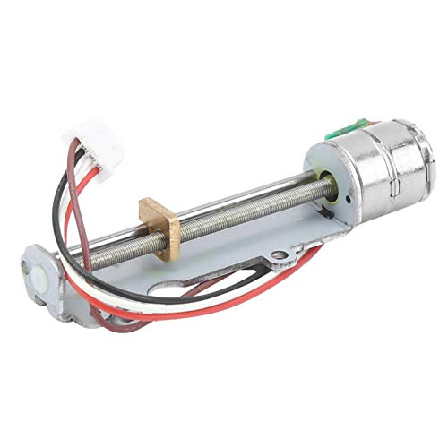 Micro Stepper Motor, Slider Stepper Motor, Durable with Epicyclic Gearbox with Screw Rod Nut Greater Force for DIY Small Slider Project Laser Printer Use