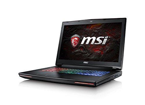 MSI GT72VR-6REAC16H21 Laptop (Intel Core i7-67000HQ-Prozessor der sechsten Generation, Arbeitsspeicher: 16 GB RAM, NVIDIA GeForce GTX1070, Festplatte: 256GB SSD + 1TB HDD, Windows 10 Home, schwarz)