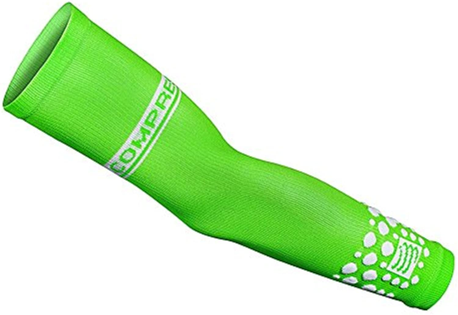 (T2, FLUO Green)  Compressport ArmForce Armsleeve