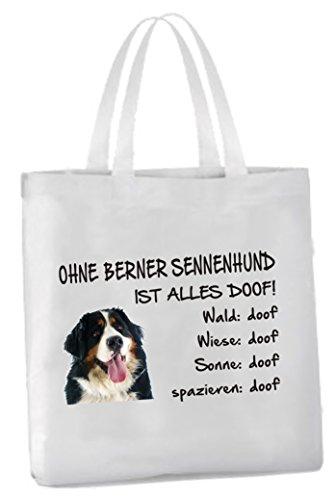 AdriLeo Einkaufstasche Ohne Berner Sennenhund ist Alles doof!
