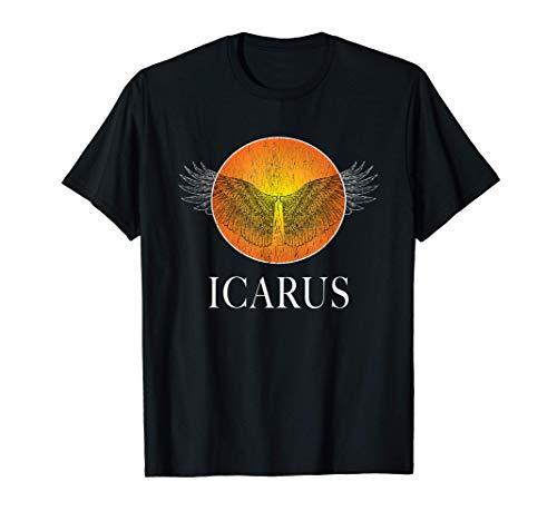 ICARUS SUN GREEK MYTHOLOGY ANCIENT GREECE HISTORY T-Shirt