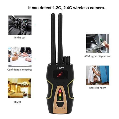 YXYOL Scanner Radio sans Fil Appareil Signal Finder, sans Fil RF détecteur de Signal, Bug GPS Caméra détecteur de Signal, CDMA sans Fil de Signal d'alarme GSM Dispositif d'écoute Finder