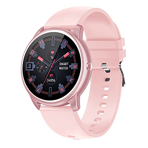 DKM Smart Watch, G26 Bluetooth Call, 1,28 Pulgadas TFT HD Pantalla Deportiva, Pulsera De Monitoreo De Frecuencia Cardíaca, Podómetro Multifunción para Android iOS,A