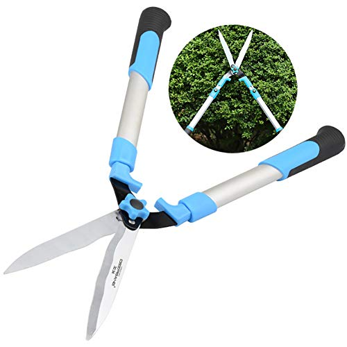 Fantastic Prices! Professional Hedge Shears, Telescopic, Wavy B Spade and Telescopic Soft Handle, SK...