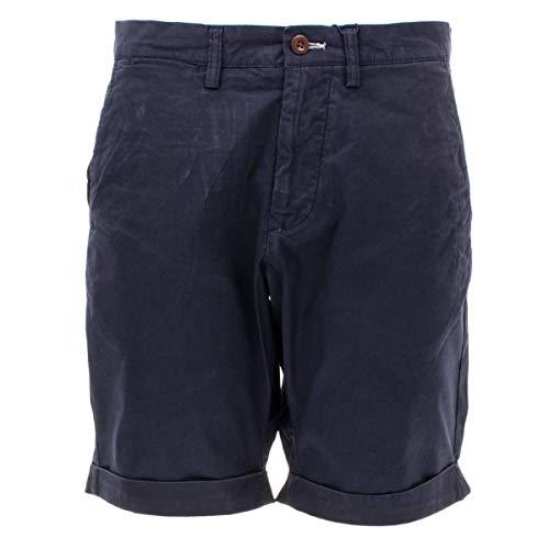 GANT Herren Shorts Regular Sunfaded Kurze Hose in Blau Größe 40