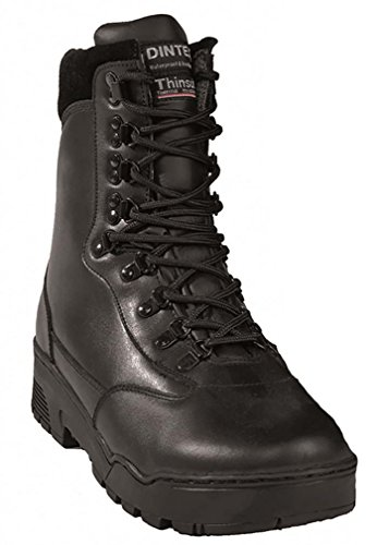 "Mil-Tec Mil-Tec Stiefel ""Tactical"" Leder Schwarz Gr.47 [Misc.]"