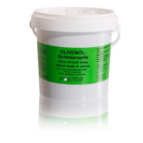 Olivenöl-Schmierseife umweltgerechtes Putzmittel, ökologisches Reinigungsmittel