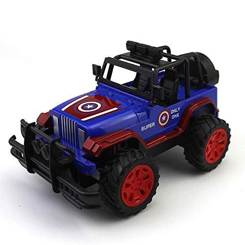 ADLIN Fernbedienung Auto High Speed Geländewagen im Maßstab 1:20 4Wd All Terrain Rc Auto-LKW-Buggy for Kinder und Erwachsene, Drift Fernbedienung Auto, Kinderspielzeug (Color : Blue)