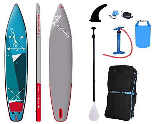 Starboard Touring Zen 12'6 SUP Single Camber - Remo, Drybag, Stand Up Paddle