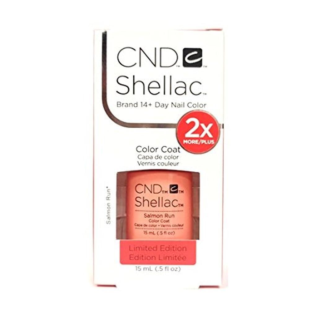 拡散する冷ややかな精緻化CND Shellac - Limited Edition! - Salmon Run - 15ml / 0.5oz