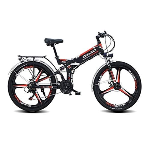 Why Choose 26E-Bike City Bike, 300W, 48V 10Ah Battery, 21 Speed Transmission Gears, Foldable,...