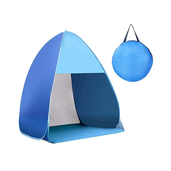 Waterproof-Instant-Pop-Up-Tent-2-3-Person-Camping-TentInstant-Set-Up-Used-for-Outdoor-Hiking-Backpacking-Tent-ShelterBeachGardenCamping-FishingPicnics