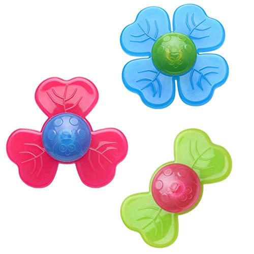 IrahdBowen PCS Set Fidget Spinner Toy Baby Tri Fidget Hand Spinner Toy para Niños Adultos Ventosa Spinning Top Sensorory Gadget Hand Finger Gyro Juguete Sensorial para La Ansiedad TDAH Choice