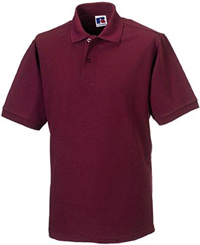 Russell Russell - robustes Pique-Poloshirt - bis Gr. 6XL / Burgundy, 4XL 4XL,Burgundy
