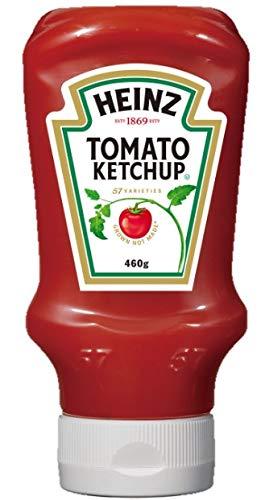 ハインツ (Heinz) トマトケチャップ逆さボトル 460g×4本 【着色料/保存料不使用】