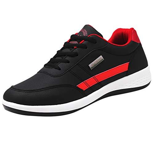 Luckycat Herren Laufschuhe Damen Turnschuhe Freizeit Sneaker Dämpfung Leichte rutschfeste Atmungsaktive Sportschuhe Fitness Schuhe
