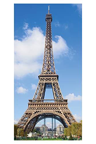 LimeWorks Toalla de Baño, 70x140 cm, Torre Eiffel Paris