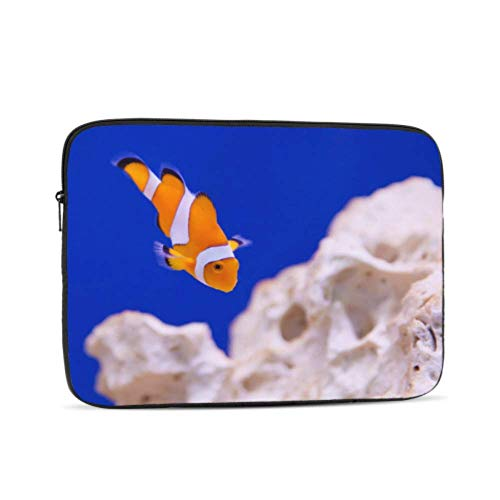 MacBook Air 11 Case Anemone Animal Aquarium Clown Fish Marine Ocean Laptop Case Multi-Color & Size Choices 10/12/13/15/17 Inch Computer Tablet Briefcase Carrying Bag