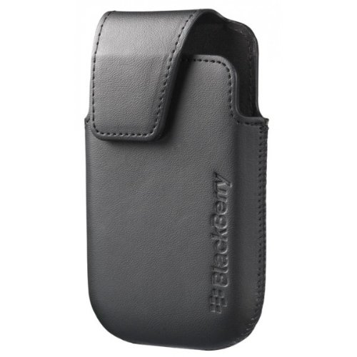 BlackBerry Curve 9310/9320 Premium Leather Pouch Holster Case With Belt Clip To Carry- Black - http://coolthings.us