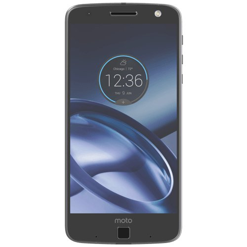 Lenovo Moto Z Smartphone, Memoria Interna da 32 GB, Nero/Grigio