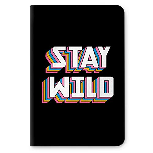 Factor Notes Notebook: 90 GSM Natural Shade Paper Journal Diary, B6, Dot Grid, 112 Pages (Stay Wild)