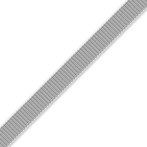 50,0 m Rolladengurt 23 mm breit, verfügbare Farben: beige oder grau, Rolladen Gurtband, von EVEROXX, Farbe:grau