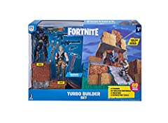 "Jonesy and Raven 4"""" action figures - inspired by two of the most popular outfits from Epic Games' Fortnite. 20 points of articulation Highly detailed decoration Raven and Jonesy are outfitted with 27 wood building materials, 27 stone building materi..."