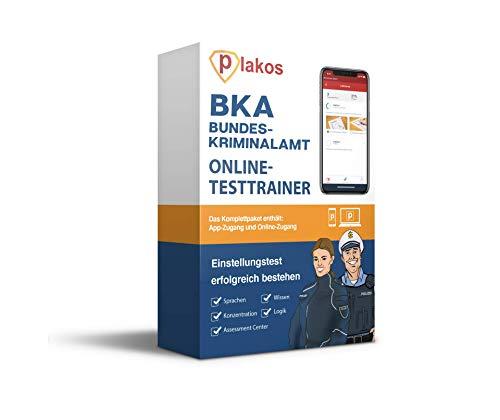 Bundeskriminalamt / BKA Einstellungstest Online Testtrainer | Einstellungstest Vorbereitung mit authentischen Aufgaben aus den Bereiche Allgemeinwissen, Logik, Konzentration, Sprache uvm.!