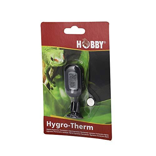 Hobby 36222 Hygro-Therm, digitales Hygrometer und Thermometer für Terrarien