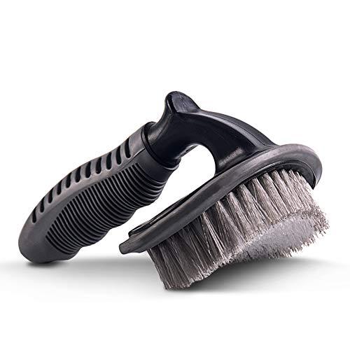 Hochwertige Felgenbürste,Geeignet für PKW-Reinigung und Pflege, gut für nasse und trockene Verwendung, Außen-und Innenausbau, können Staub, Brot Krüme