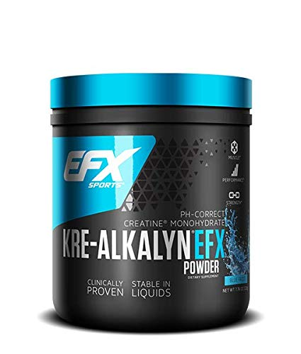 EFX Sports Kre-Alkalyn EFX Powder, Blue Frost - 220g