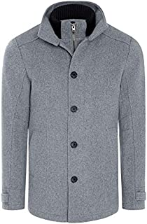 Tarocash Men's Stoneham Coat Sizes Small - 5XL for Going Out Smart Occasionwear