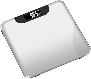 HJTLK Báscula de baño Digital, báscula, báscula de Grasa Corporal Bluetooth, báscula Inteligente con retroiluminación, 180 kg