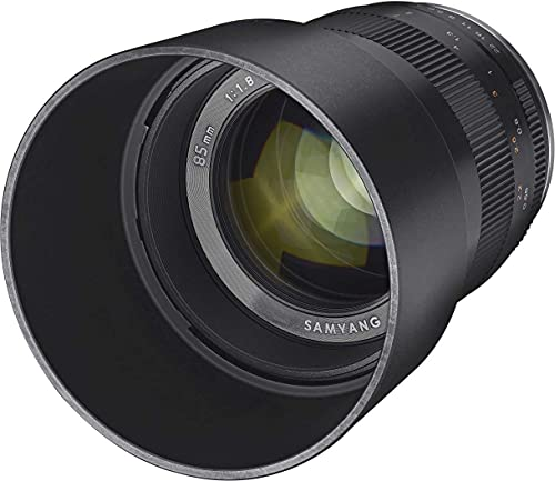 Samyang SA3503 - Tele-Objetivo Medio CSC 85mm F1.8 para Sensor Micro 4/3 Olympus