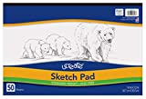 UCREATE - P4747 UCreate Sketch Pad, Standard Weight, 18' x 12', 50 Sheets