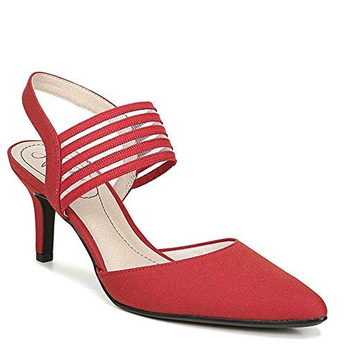 LifeStride Women's Pump, Fire Red, 9