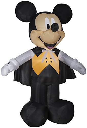 Halloween Inflatable Mickey Mouse with Vampire Costume