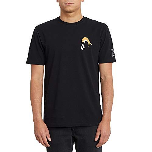 Volcom P. C. Ayers FA Ss Herren-T-Shirt M Schwarz