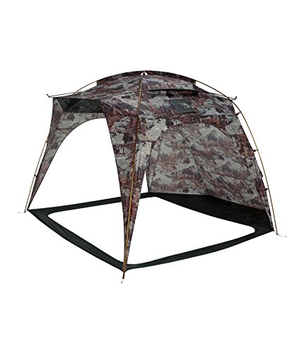 The North Face Homestead Shelter Tent Darkest Spruce Yosemite Sofa Print/Darkest Spruce Size One Size