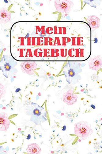 Mein Therapietagebuch: Punktiertes Notizbuch mit 120 Seiten zum festhalten für alle Notizen, Termine, Listen, Fortschritte und vieles mehr - Ebenfalls eine tolle Geschenkidee