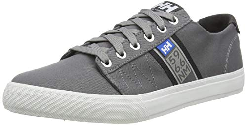Helly Hansen Herren Salt Flag F-1 11301 Sneaker, Grau (Quiet Shade/Ebony/Light Grey 970), 48 EU