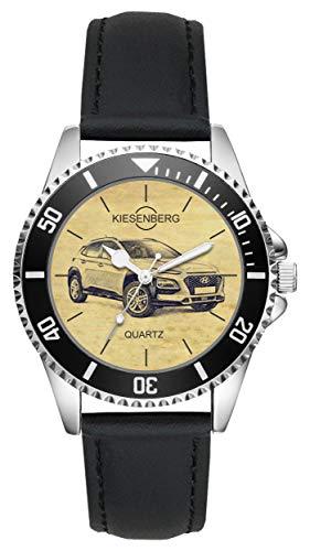 Geschenk für Hyundai Kona Fahrer Fans Kiesenberg Uhr L-20581