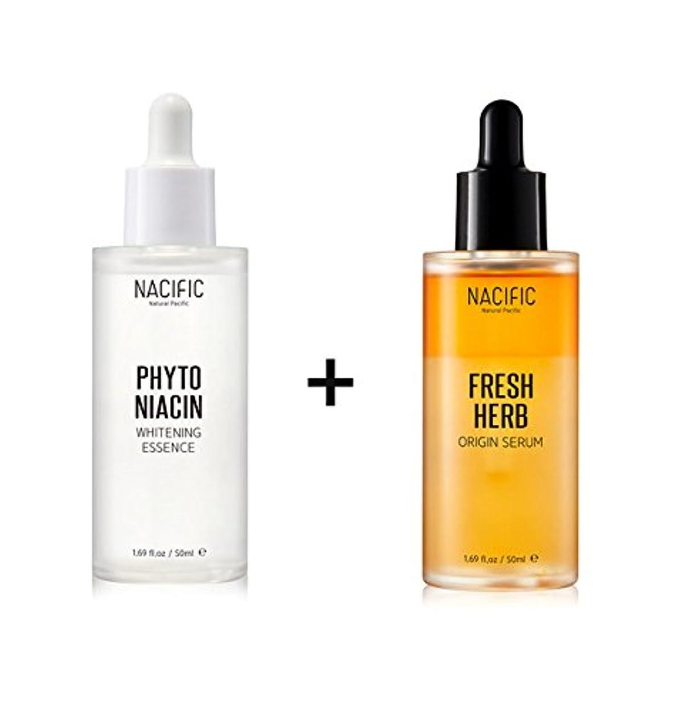 代理人糸小競り合い[Renewal] NACIFIC Fresh Herb Origin Serum 50ml + Phyto Niacin Whitening Essence 50ml/ナシフィック フレッシュ ハーブ オリジン セラム 50ml + フィト ナイアシン ホワイトニング エッセンス 50ml [並行輸入品]