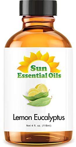 Lemon Eucalyptus Essential Oil (Huge 4oz Bottle) Bulk Lemon Eucalyptus Oil - 4 Ounce