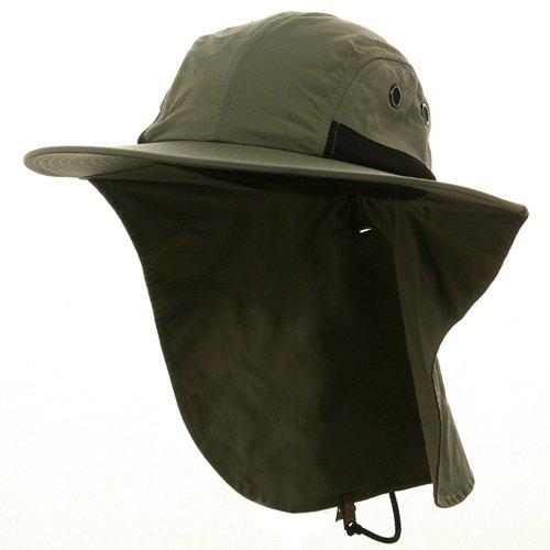 Panegy extérieur pliable Chapeau de soleil anti-UV Chapeau Topee ultraléger respirant Casquette – Multicolore Taille unique vert militaire