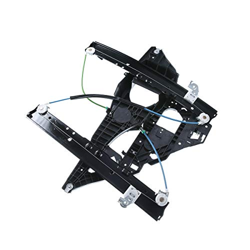 A-Premium Power Window Regulator with Panel without Motor Replacement for Ford...