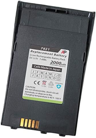 Artisan Power Replacement Battery National uniform free shipping for Cisco Phone. Attention brand 7921G Extende